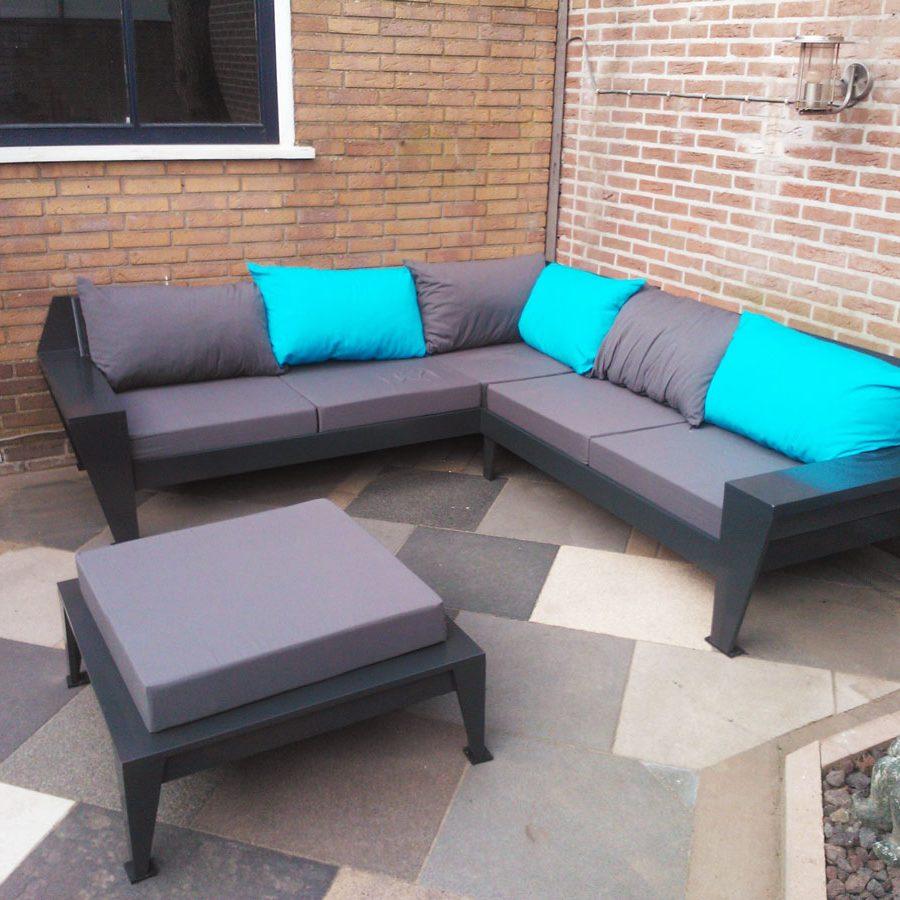 Lounge hoekbank YelmoXL gemaakt door Bert