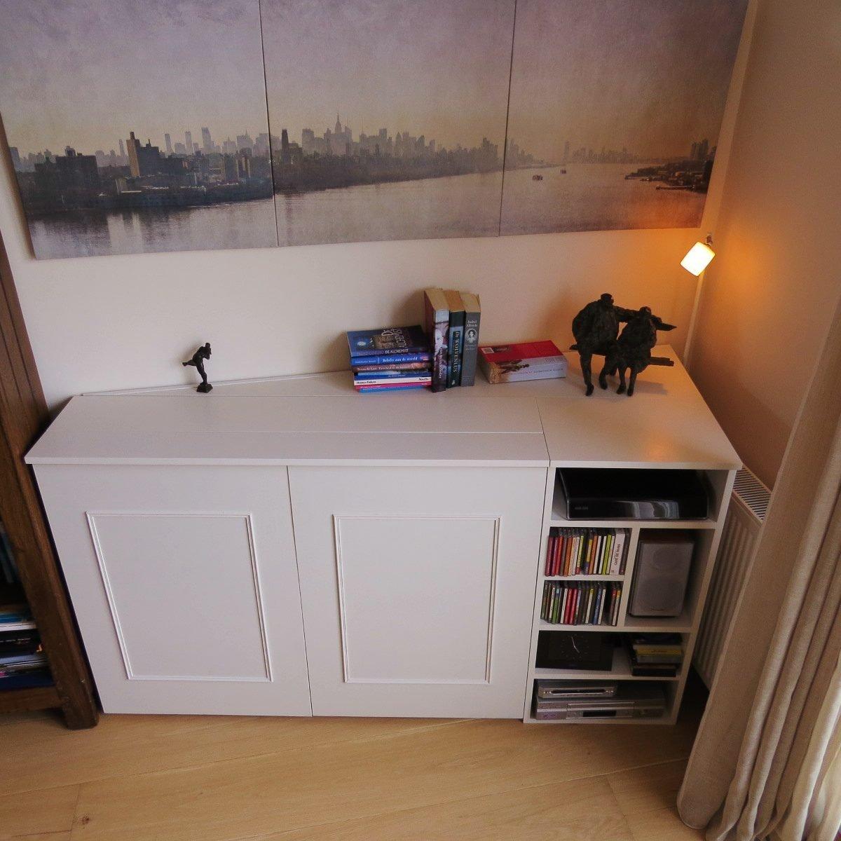 Aangepast tv-meubel Astor gemaakt door J vd B