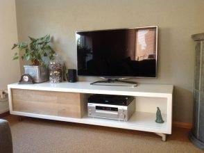 Zelfbouw tv-meubel Arturo door Henk