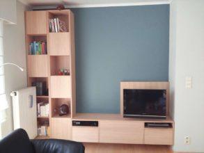 Zelf tv-meubel bouwen: 'Jordi' aangepast door Hubert