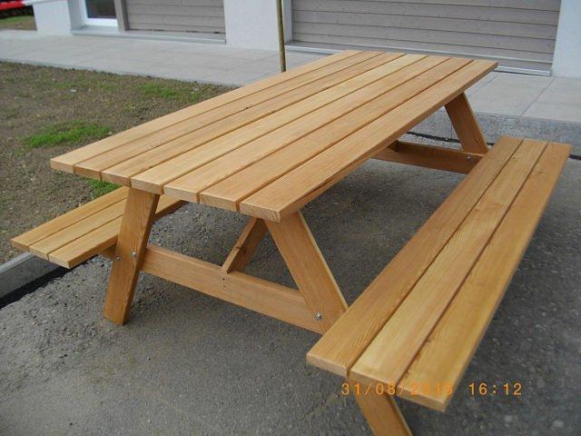 Zelfbouw picknicktafel Nevada door Ben