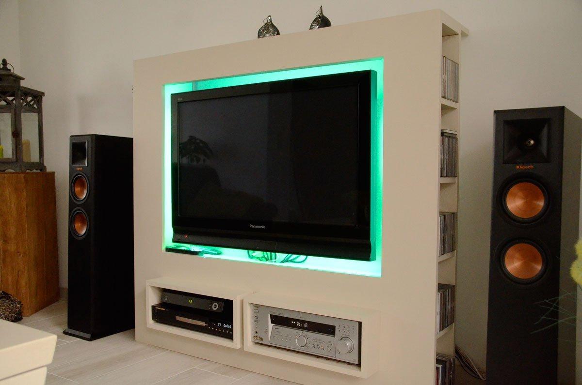 Mooie moderne tv kast jordi gemaakt door maarten