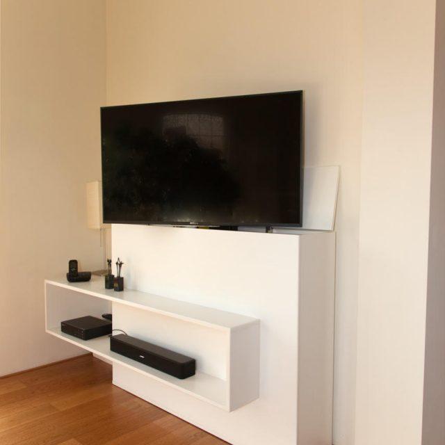 TV-meubel met lift zelf maken door Wilfred