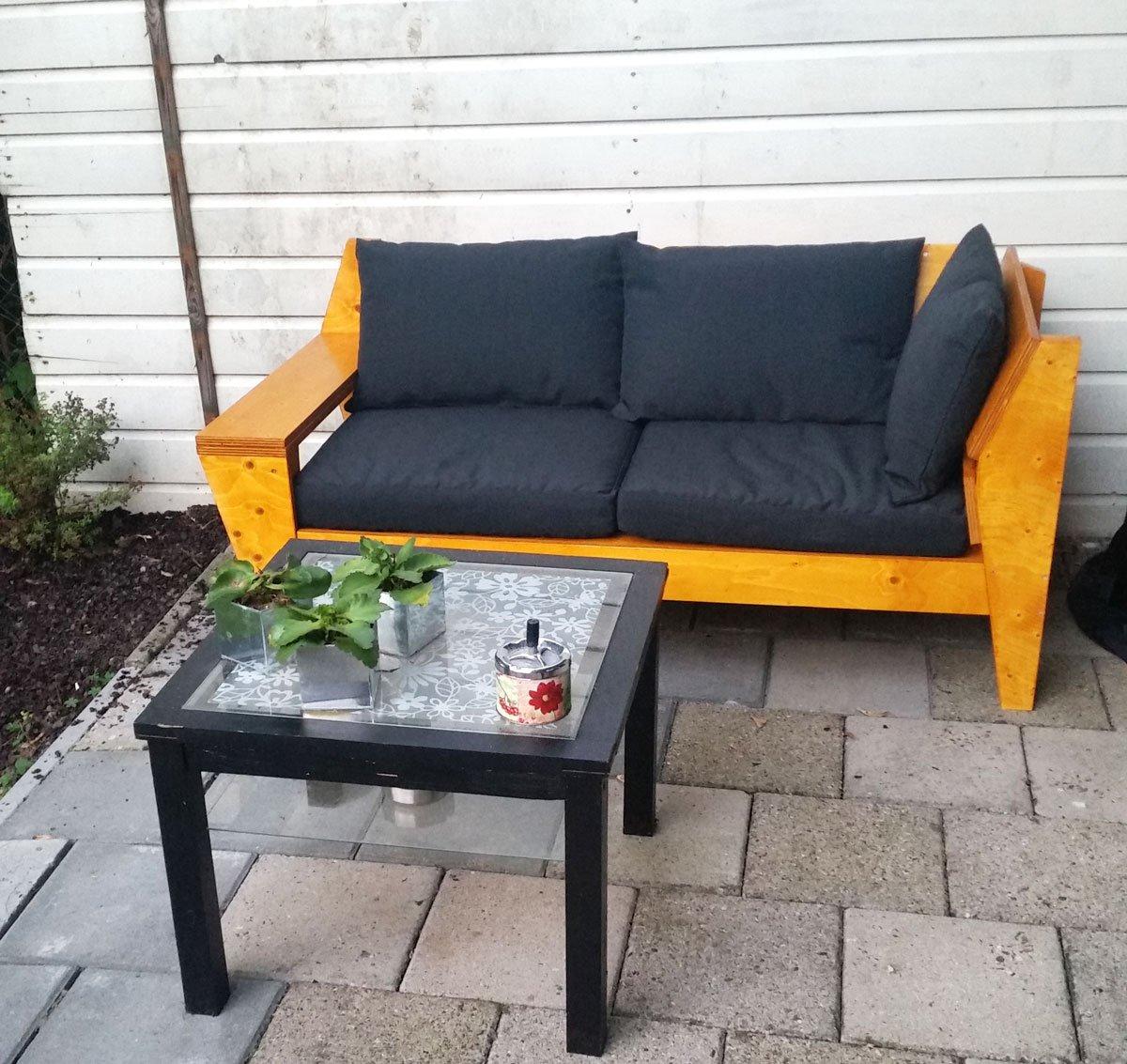 Zelf maken: loungebank YelmoXL door Karin