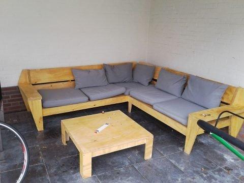 Doe het zelf met bouwtekening; loungebank YelmoXL door Stefan
