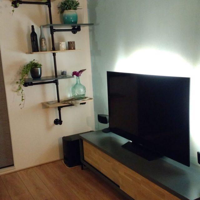tv-meubel Arturo gemaakt door Lutina in zwart mdf en massief eiken