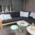 Zelfbouw loungeset YelmoXL in Fins berken door Anke