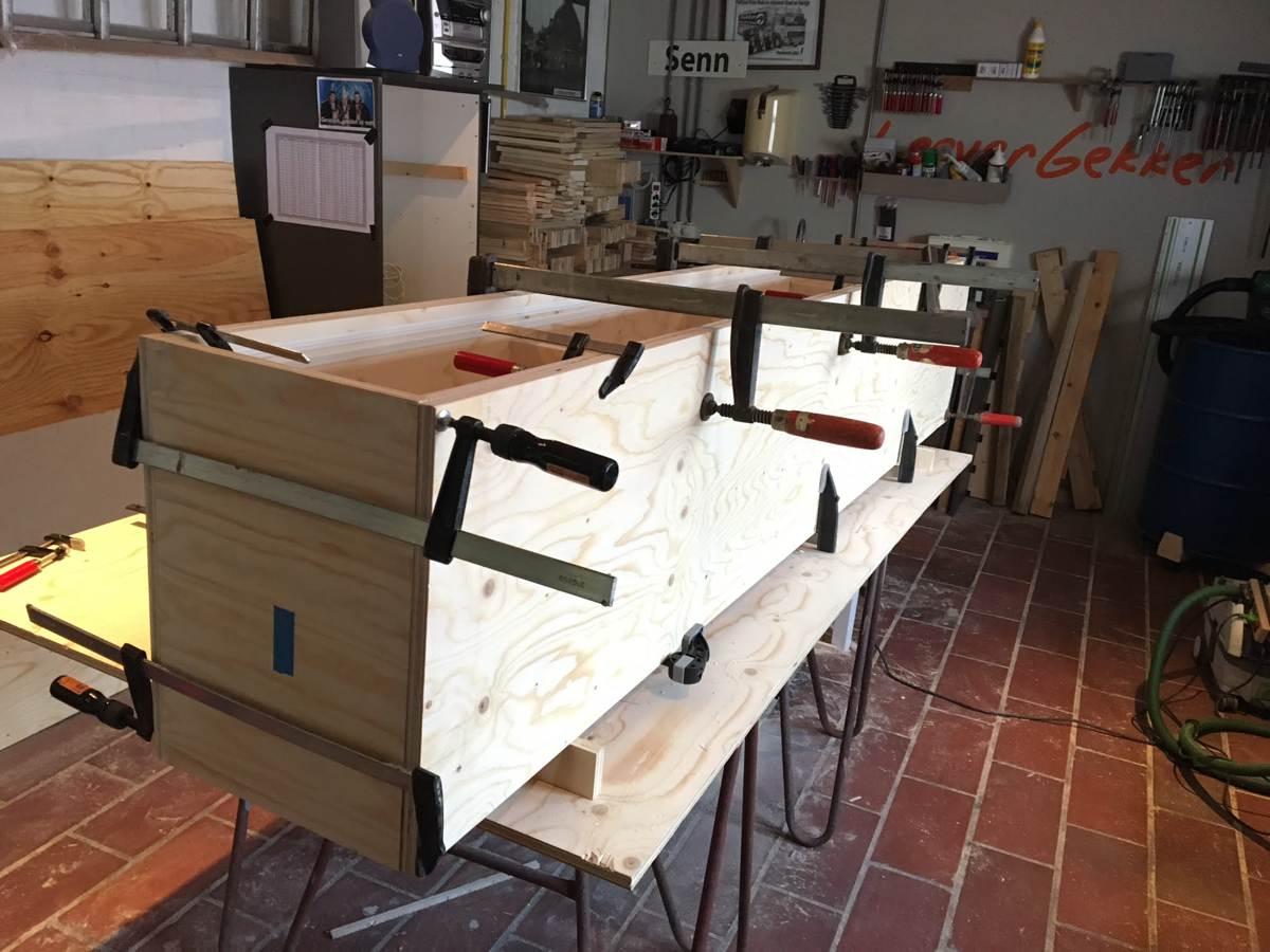 Zwevend tv-meubel ArturoXL gemaakt door NIels