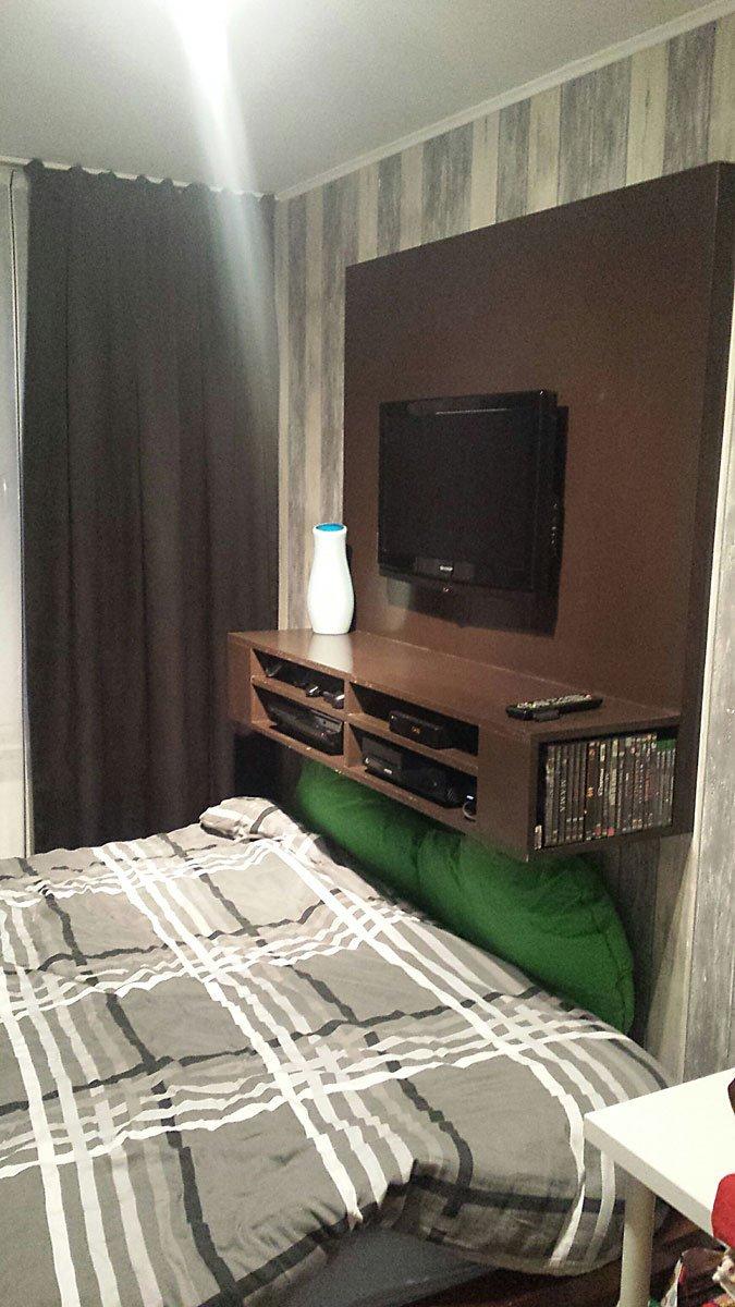 TV meubel Penelope gemaakt door Francis in betonplex