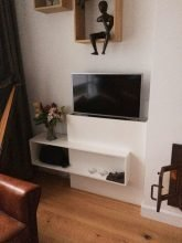 TV-meubel met lift zelf maken door Merel