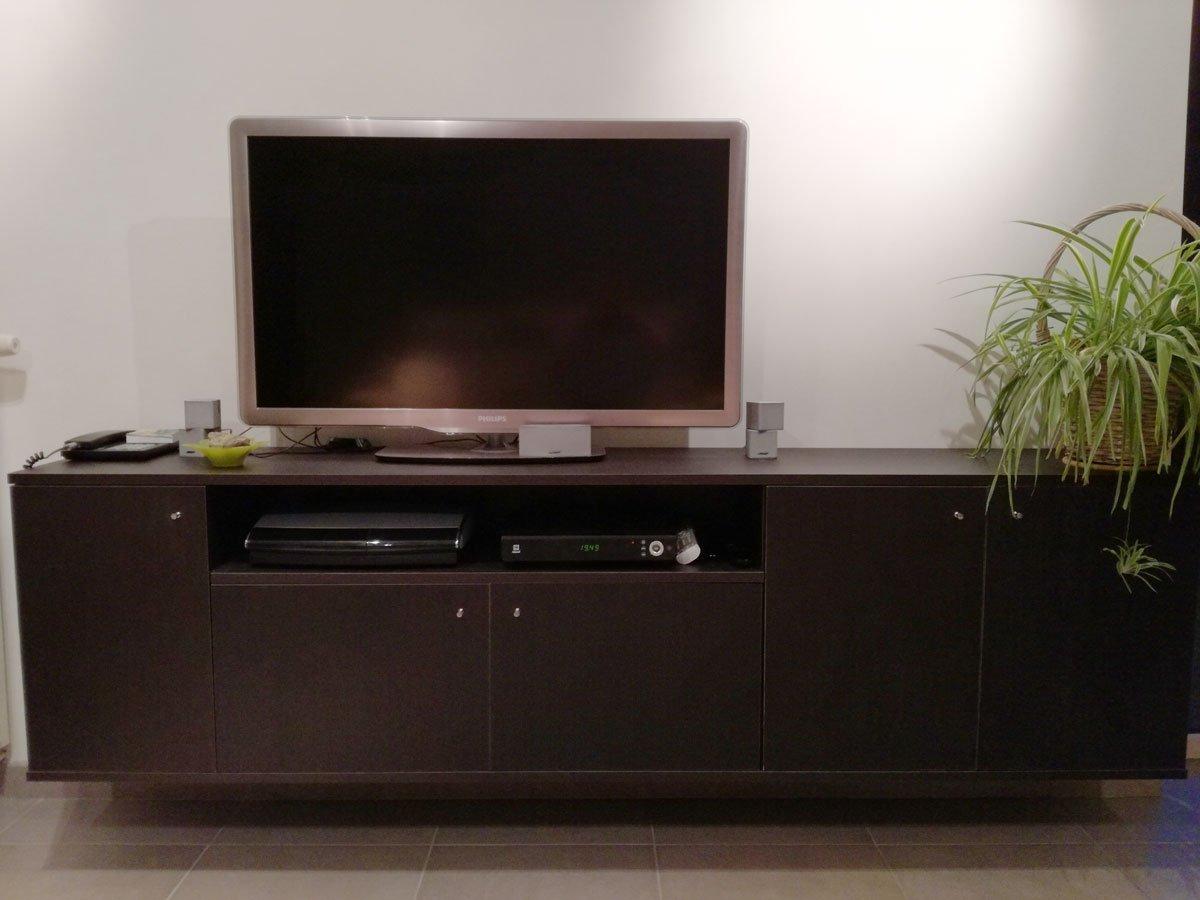 Hangend TV meubel Jordi zelf maken: door Harry