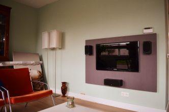 Zwevend tv-meubel Penelope gemaakt door Joris