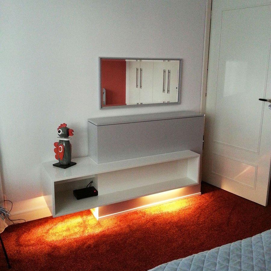 TV meubel met lift Astor gebouwd door Bert