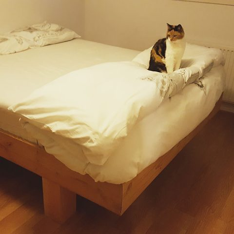 Bed Azobe gemaakt door Rika