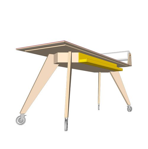 Neo-eko ontwerp op maat: tafel Brainmate