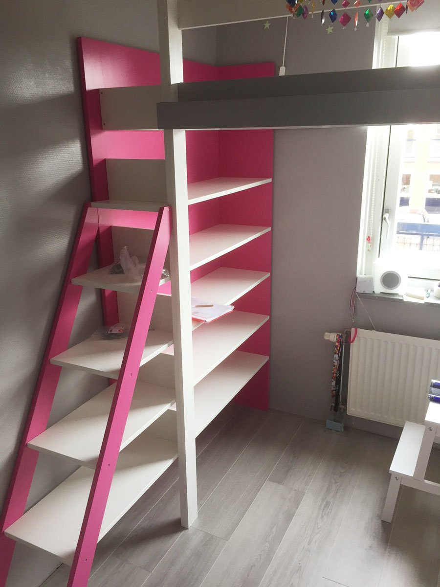 DIY-loft-Ana, Design by Neo-Eko, made by Marjolein
