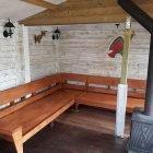 Loungebank maken: YelmoXL gebouwd door Eric
