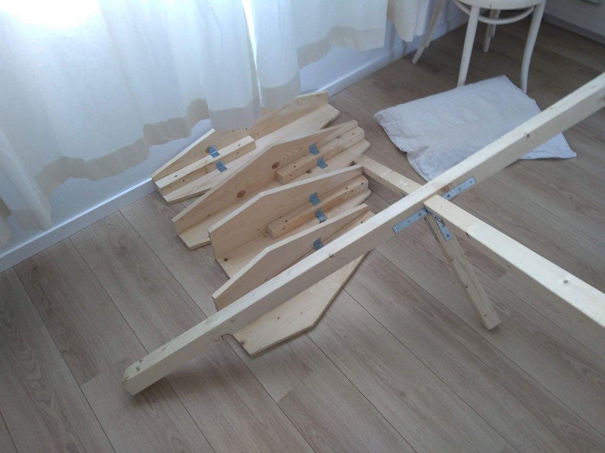 zelfbouw bed Hayeda door Gerard