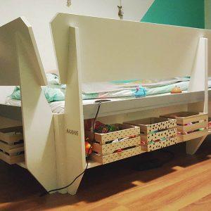 zelfbouw tiener chill bed Acoge door Jan A