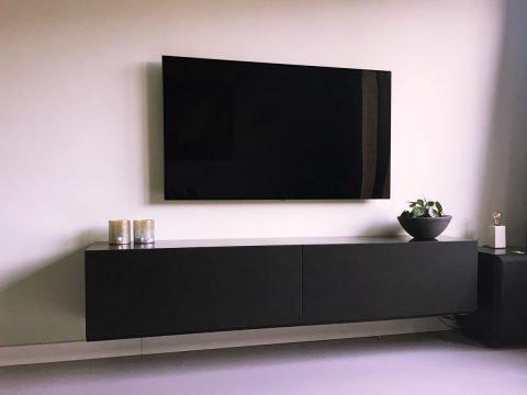 Zelfbouw tv-meubel ArturoXL, ontwerp neo-eko gemaakt door Robert