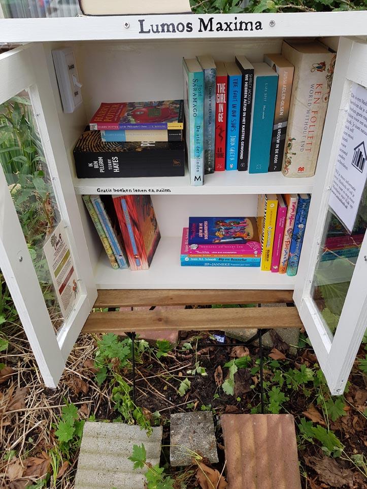 Minibieb Libros door Eva