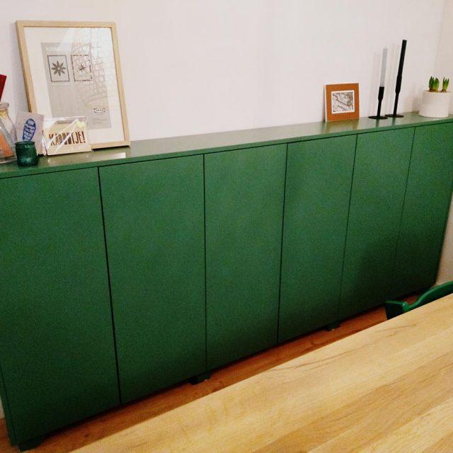 Zelfbouw dressoir Dario gemaakt door John