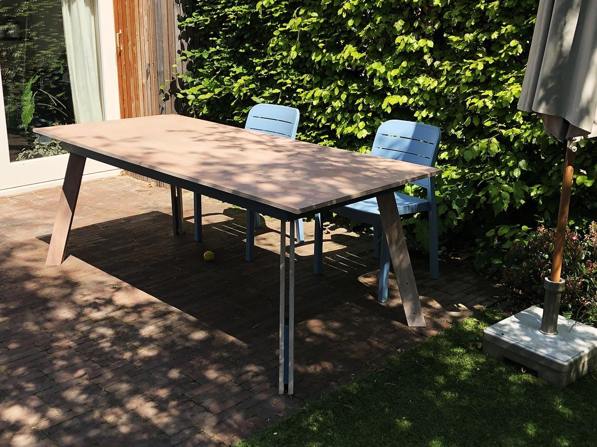 Tafel zelf maken: tafel Teruel door Madelon