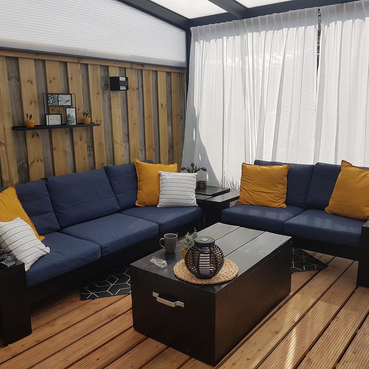 Zelf Loungebank bouwen: YelmoXL door Fokelien