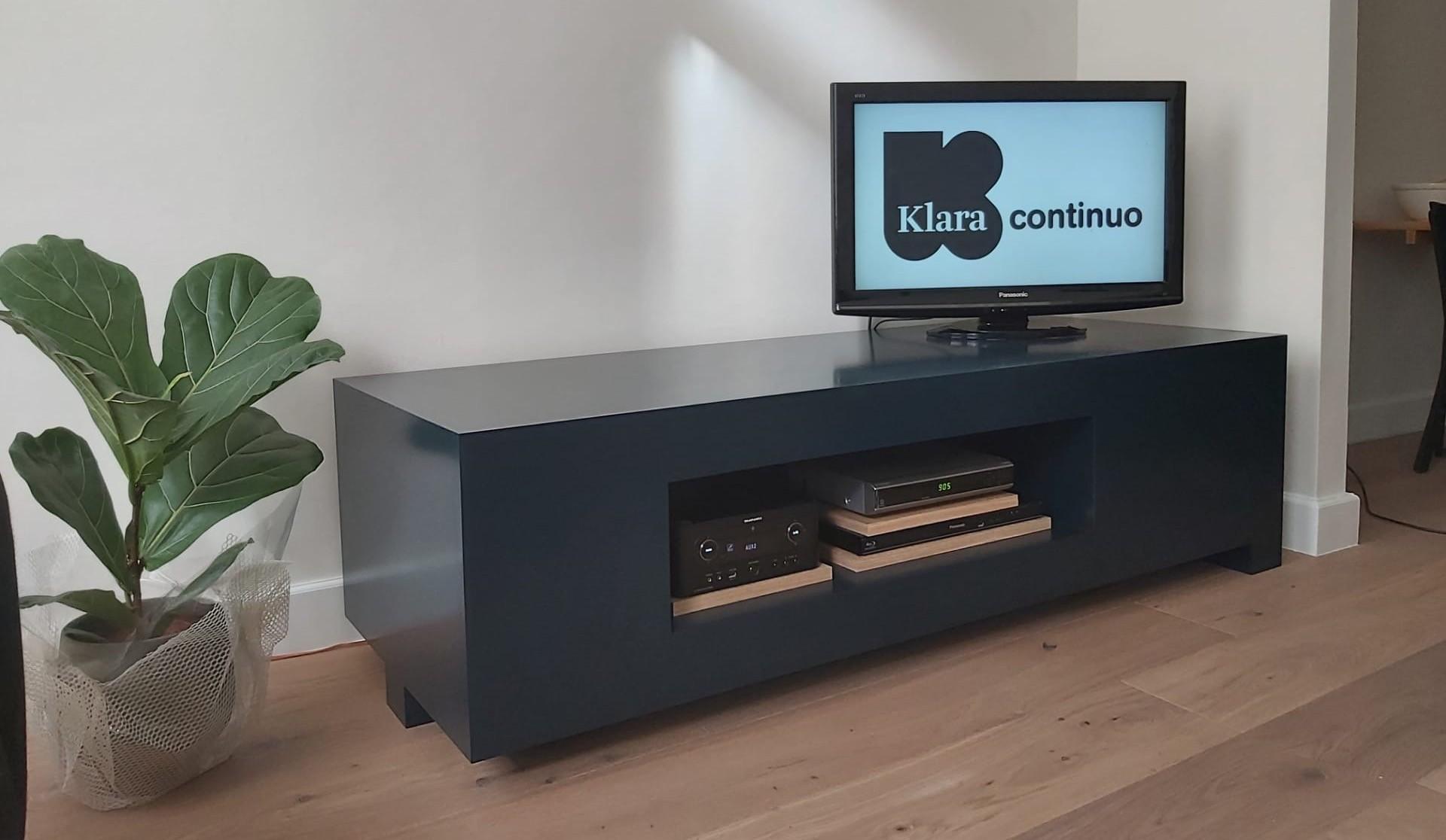 Ontwerp tv-meubel voor Piet