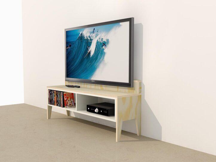 Zelf bouwen; tv-meubel Marisa