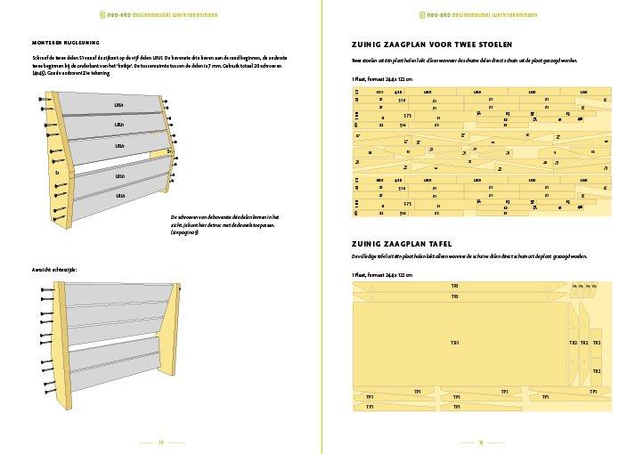 Voorbeeld van 2 pagina's van de handleiding