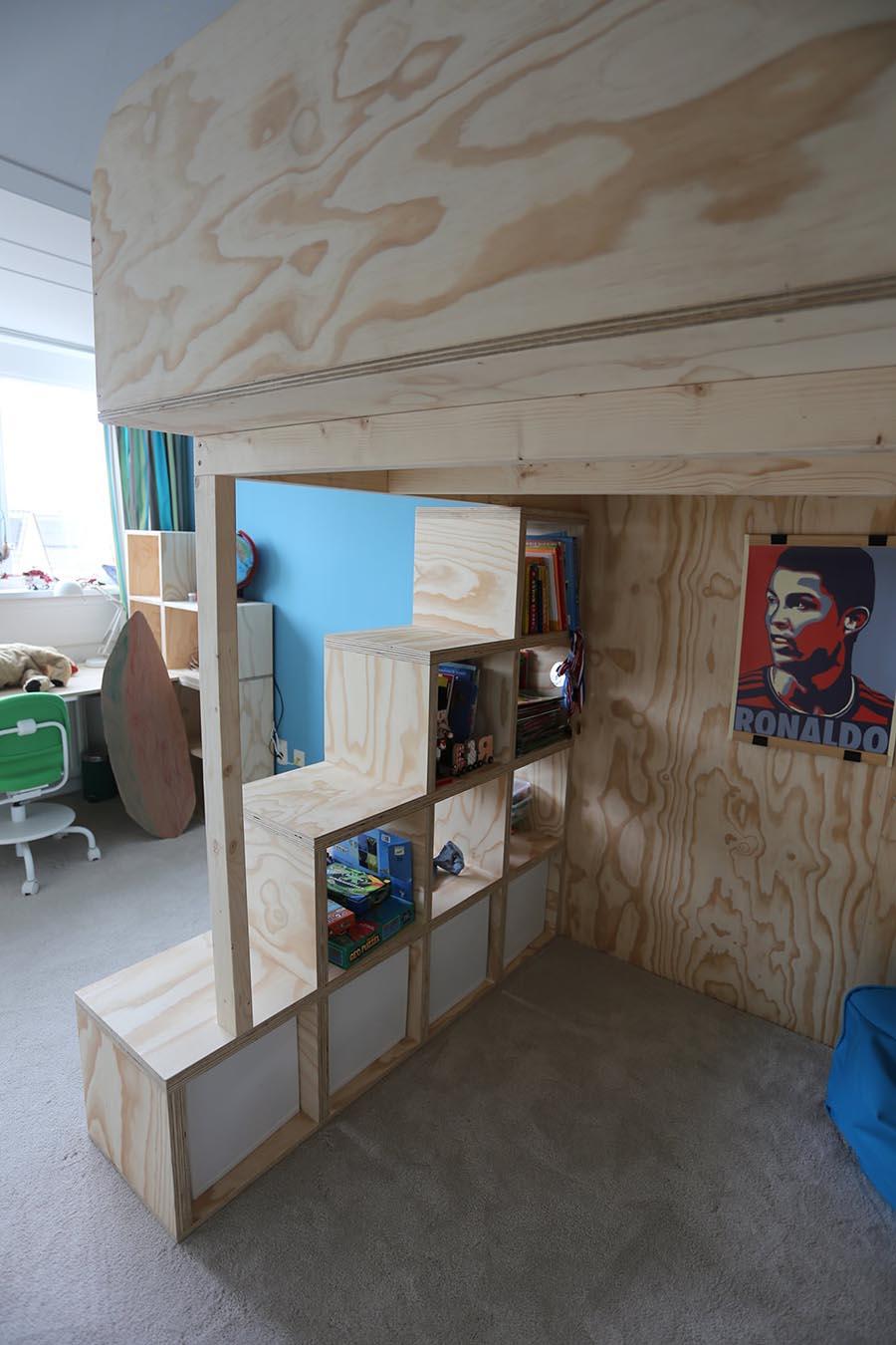 Zelfbouw hoogslaper Carlos gemaakt door unit8b